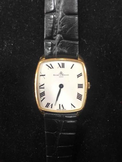 Relógio Baume & Mercier Em Ouro 18k