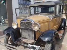 Ford A Tudor 1932 De Coleccion.