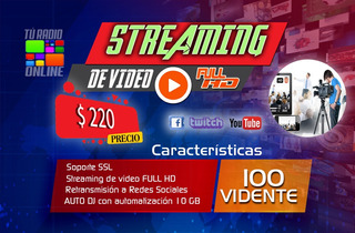 Streaming De Vídeo Tv Live
