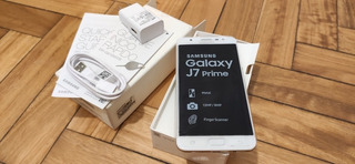 Celular Samsung Galaxy J7 Prime Gold 3gb Impecable-no Reacon