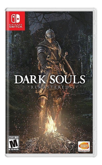 Dark Souls Remastered Switch Mídia Física Novo Lacrado