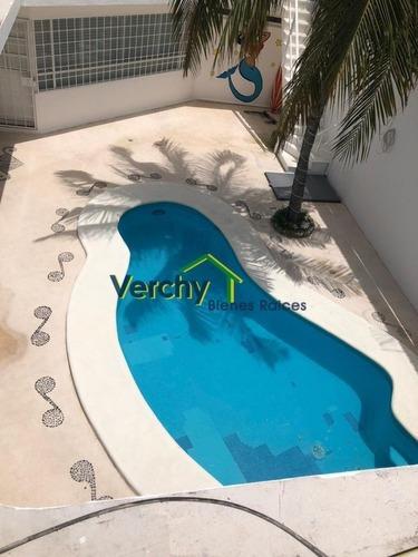 Playa Del Carmen Increíble Casa En Venta