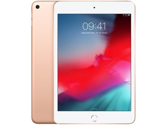 Apple iPad Mini 5 64gb Wifi Tela 7,9 Camera 8mp Ios 12 Nfe