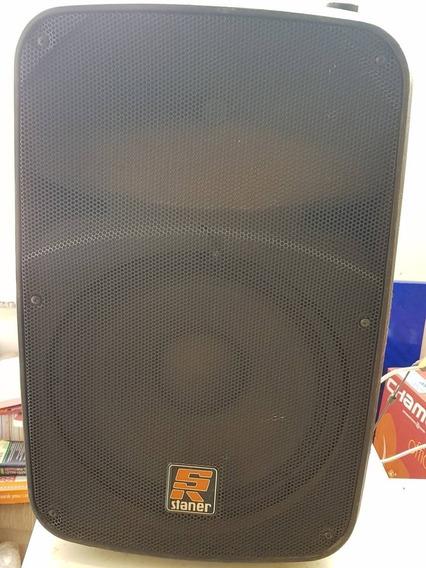 Caixa Amplificada Staner Sr212a 200w Usb Bluetooth