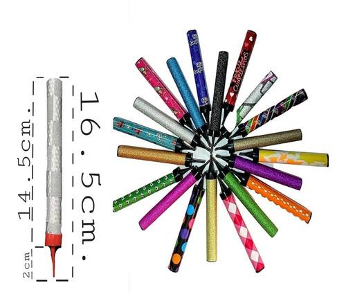 ¿wow¿ 100 Velas Mágicas , Encendido De Colores, 5 Tiempos !!