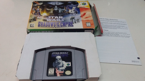 Star Wars Shadows Of The Empire Nintendo 64