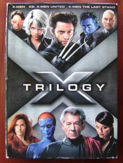 X-men Trilogy - Marvel 3 Dvd Original Import Usa Z1 Box Set