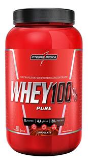 Whey Protein 100% Integralmedica Pote 907 G Vários Sabores