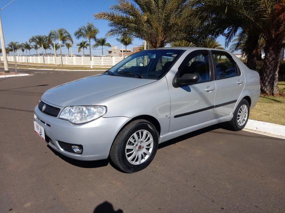 Fiat Siena Elx 1.3 8v Flex Prata 2005