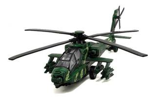 Modelo Helicóptero Escala 1/32 Apache 26 Cm. Aerea China.