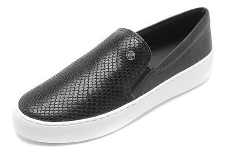 Slip On Cobra Feminino Bottero - Preto
