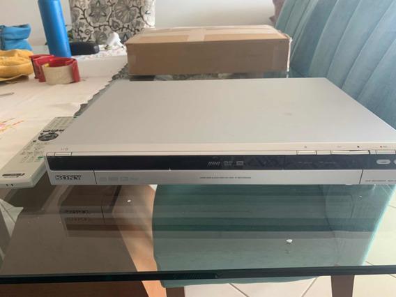 Gravador Dvd De Mesa Sony Rdr Hx 730 Com Hd 160gb