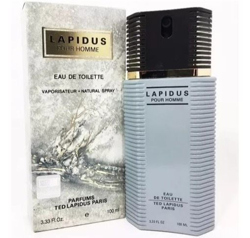 Lapidus Pour Homme 100ml Masculino Original