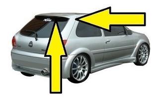 Spoiler Ford Fiesta 1998 A 2006 Tuning Lujo