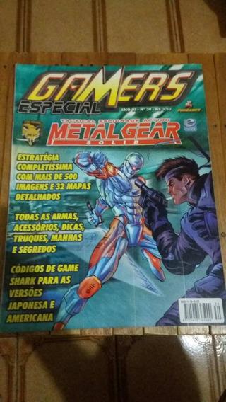Gamers Especial Metal Gear Solid (frete Grátis)