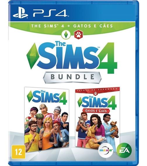 The Sims 4 + Gatos E Caes Ps4 Português Mídia Física Oferta