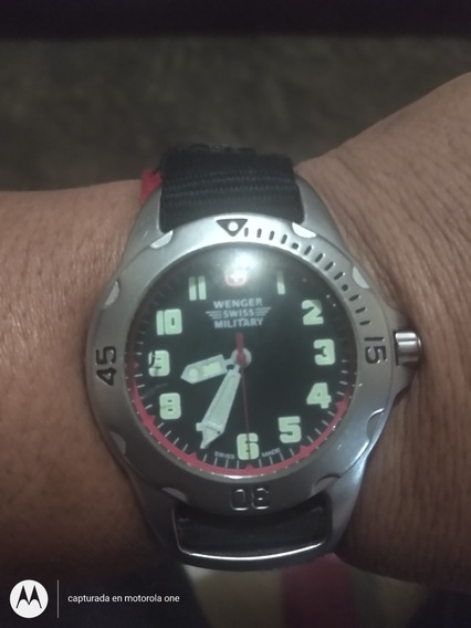 Reloj Swiss Wenger Military 7097x