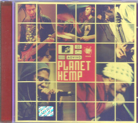 Cd Planet Hemp - Mtv Ao Vivo - Promocinal - Lacrado