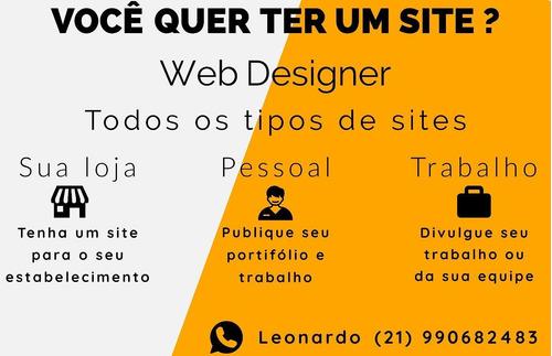 Web Designer - Criação De Site