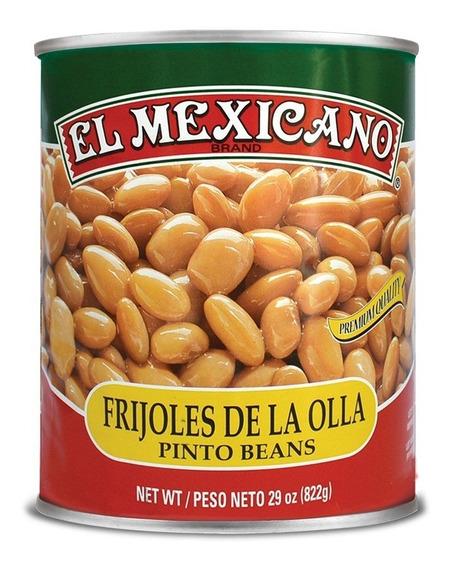 Frijol Entero Pinto El Mexicano 822 Grs