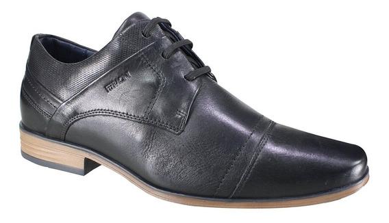 Sapato Masculino Ferracini Couro Bico Redondo 6065-575g