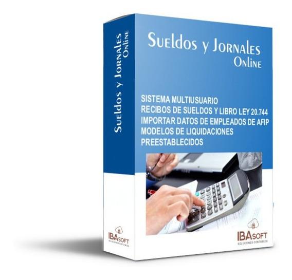 Liquidacion De Sueldos. Version Full. Aplicacion Web
