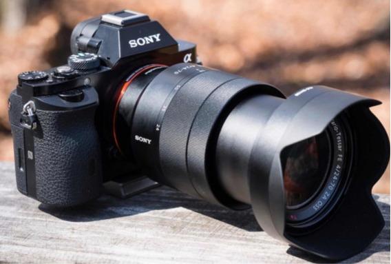 Camera Sony A7sii 4k Seminova Na Caixa Corpo
