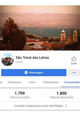 Fanpage São Tomé Das Letras