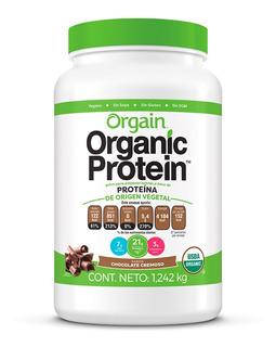 Proteína Orgánica Polvo Sabor Chocolate Orgain 1.242 Kg