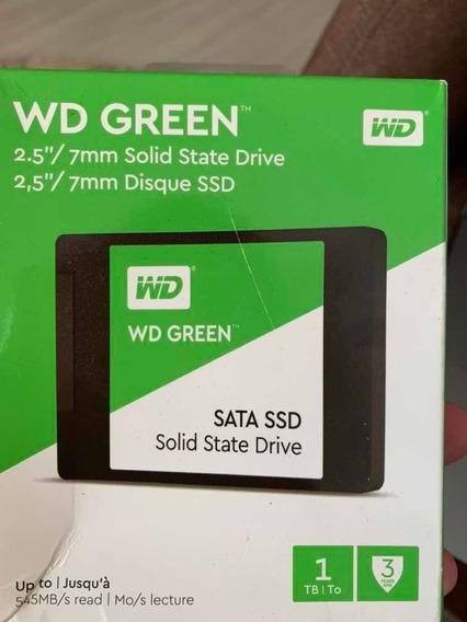 Ssd Wd Green 1t