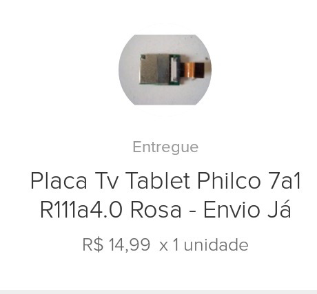 Placa Para Tv Tablet Philco 7a1