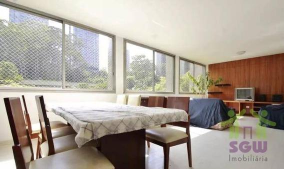 Apartamento Com 3 Dormitórios Para Alugar, 125 M² Por R$ 1.350,00/mês - Portal Do Morumbi - São Paulo/sp - Ap0159
