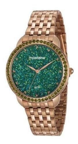 Relógio Mondaine Puls E Caixa De Metal Cobreado C/ Puls. Ber