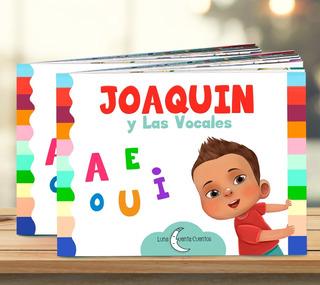 Libros Infantiles Personalizados | Jugando Con Las Vocales!