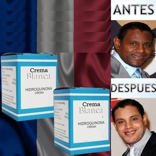 2 Crema Blanqueadora Despigmentante De Hidroquinona