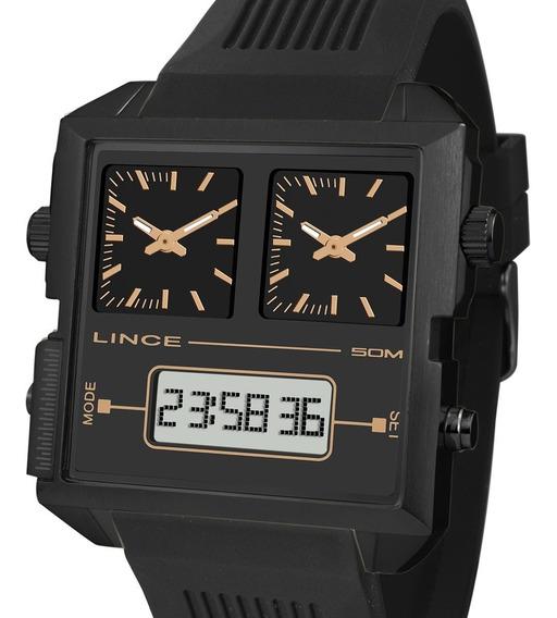 Relógio Lince Masculino Anadigi Map4588s P1px Quadrado