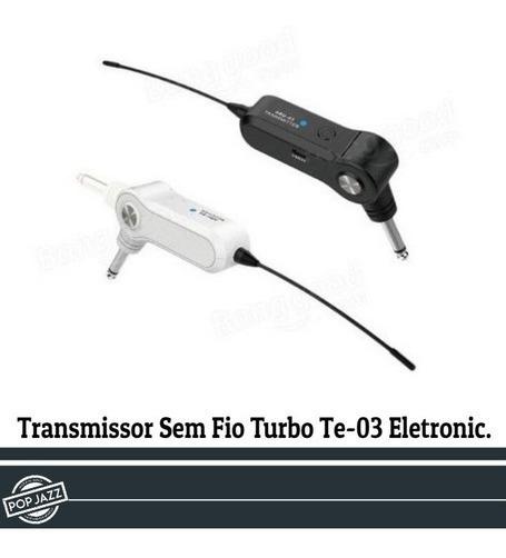 Transmissor Sem Fio P/ Instrumentos Te-03