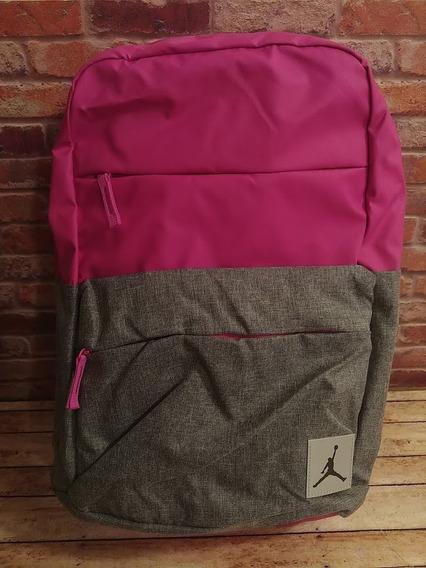 Mochila Jumpman Jordan Nike Rosa Gris Backpack
