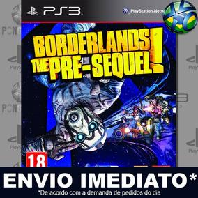 Jogo Ps3 Borderlands The Pre-sequel Psn Play 3 Mídia Digital