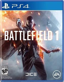 Battlefield 1 Para Ps4 Disco Fisico