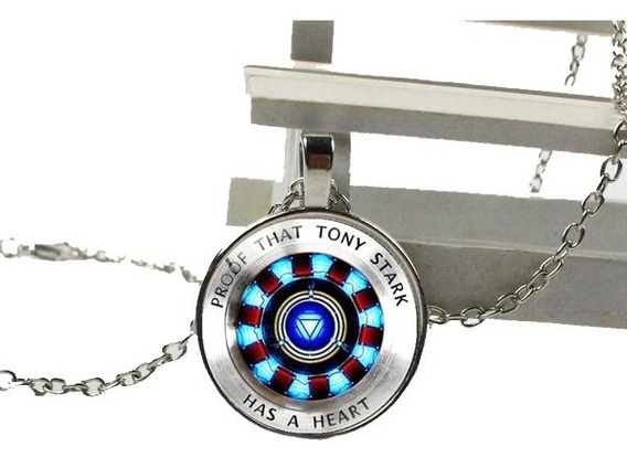 Collar Reactor Tony Stark Iron Man Ironman Avengers Llavero