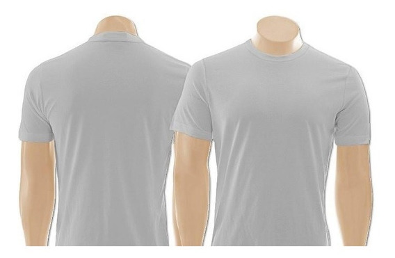 Kit 02 Camisetas Masculina Academia Lisa Esporte Fitness