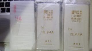 Combo 3 Capas & 3 Películas Xiaomi Redmi 4a