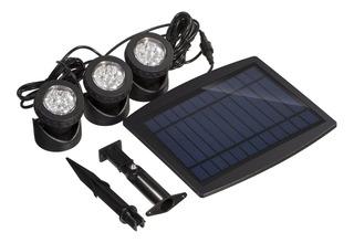 Lámparas De 18 Luces Led Solares Sumergibles Muy Brillantes