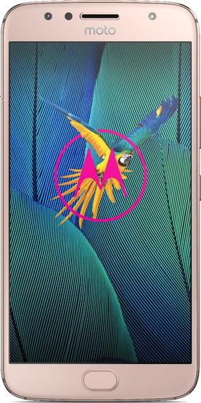 Celular Libre Moto G 5s Plus Blush Gold Xt1800