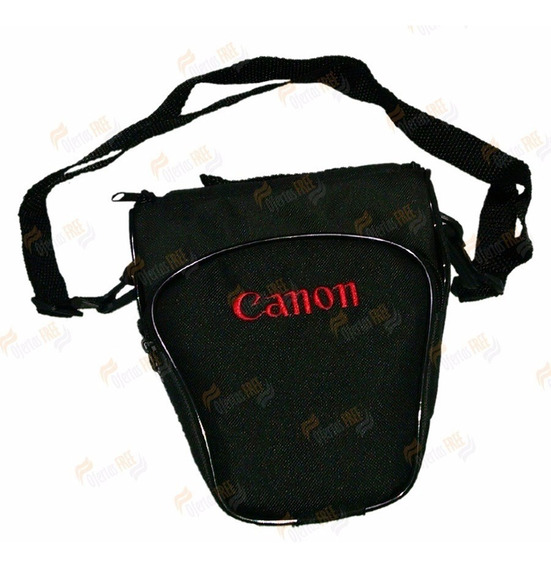 Bolsa P/ Canon T6 T7 Sl2 Sl3 T5i T6i T7i Alça +bolso Frontal