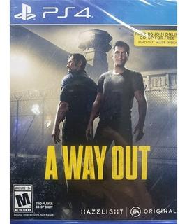 A Way Out Ps4 Español Nuevo Sellado Delivery Stock Ya