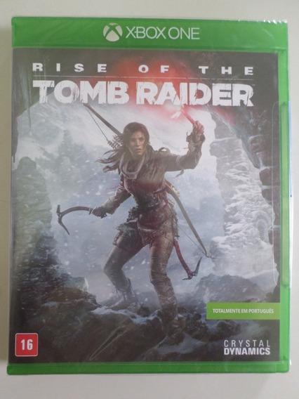 Rise Of The Tomb Raider Xbox One Novo E Lacrado Em Português