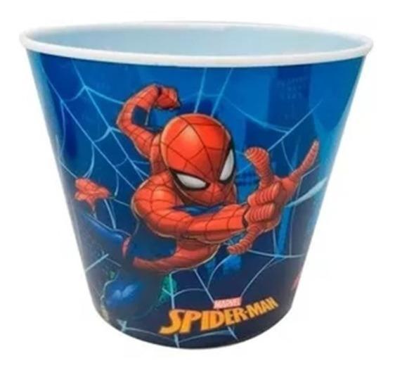 10 Cubetas Palomeras De Spiderman Dulcero Marverl Avengers
