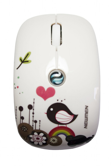 Mouse Newmen Óptico Wireless F200